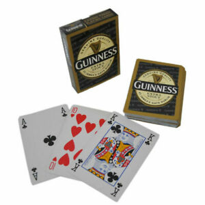 """Guinness Label Playing Cards """"Casino Finish"""" Officially Licensed"""