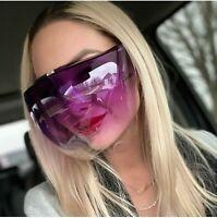 Protective Anti Fog Bubble Face Shield Guard Full Mask Visor Sunglasses