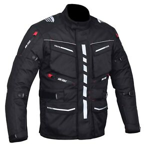 Motorbike, Motorcycle Cambridge Jacket, Cordura Textile,CE Approved Armour,