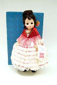 "Madame Alexander Opera Series Vinyl CARMEN 1410 13"" Doll w Orig. Box & Tag B9822"