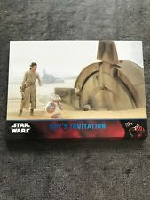 Topps Star Wars The Force Awakens Série 1 Blue Parallel 10 Cards Lot