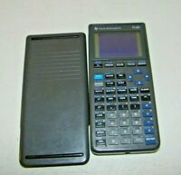 TI Texas Instruments TI-82 Graphing Calculator Dark Gray w/ Cover New Batteries