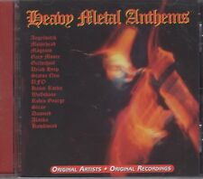 "Heavy Metal Anthems ""Various Artists"" NEW CD Original Recordings 1st Class Post"