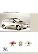 Prospekt / Brochure Lada 1117/1118/1119 03/2008