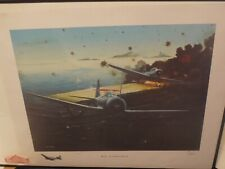 Ivan Berryman Midway Battle Setting of the Sun Signed Limited Edition Print USA