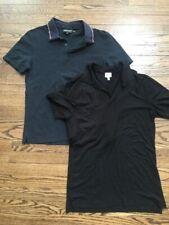 Lot of 2 ARMANI Collezioni Men's Polo Tees Size M