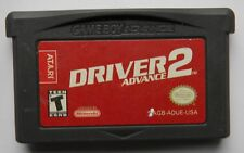 DRIVER 2 AGB ADUE USA NINTENDO GAME BOY ADVANCE CARTUCCIA