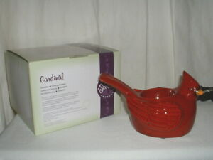 "Scentsy ""Cardinal"" Element Wax Warmer Electric NEW"
