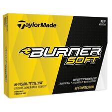 TaylorMade Golf 2017 Burner Soft Golf Balls 1 Dozen (Yellow)