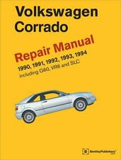 VW VOLKSWAGEN CORRADO G60 VR6 SLC Owners Service Repair Manual Handbook Book