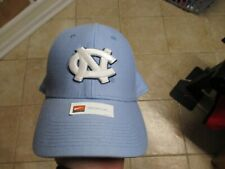 NIKE NORTH CAROLINA TARHEELS (FLEX FIT) HAT (OSFM) NWT CAROLINA BLUE W/NC LOGO