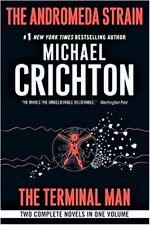 ANDROMEDA STRAIN TERMINAL MAN M. Crichton BRAND NEW BOOK Ebay Best Price!
