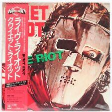 Quiet Riot, Live Riot Vinilo Grabación/LP * usado *