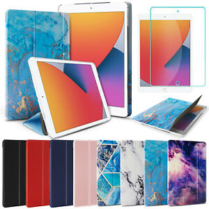 """For iPad 8th 7th Generation 10.2"""" Case Flip Stand Leather Cover/Screen Protector"""