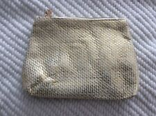 Yves Rocher Cosmetic Bag Gold Color