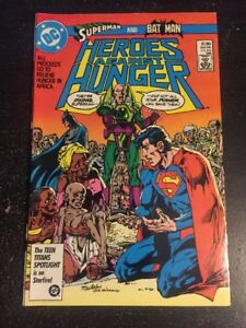 Heroes Against Hunger#1 Incredible Condition 9.4(1986) Neal Adams Cover!!