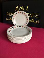 "10 x T. G. GREEN Cornishware Quatro Side Tea Plates 7"""
