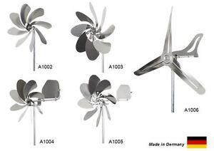 steel4you Windräder aus Edelstahl - verschiedene Typen - kostenloser Versand