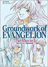 Evangelion Art Book Groundwork of EVANGELION The Movie 1   2001
