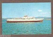 VINTAGE POSTCARD 1962 MV COHO 125 CAR FERRY WASHINGTON-BRITISH COLUMBIA