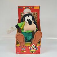 MATTEL GOOFY DISNEY PLUSH DOLL THE GOOFIEST MOVIE EVER STUFFED TOY RARE GOOFY