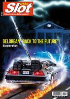Magazine Mas Slot revista coleccionismo Junio 2020 nº 216 DeLorean Superslot