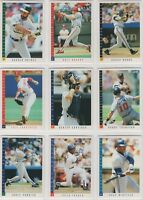 1993 Score Baseball Team Sets **Pick Your Team**