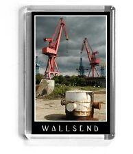 NEWCASTLE UPON TYNE fridge magnet WALLSEND swan hunters Contemporary Landscape