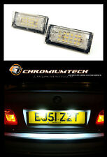 Bmw E46 Serie 3 Blanco 18 Led Super Blanco número Placa Luces 320 325 330 318