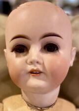 "C1890 24"" Antique German Karl Hartmann Doll on Original Body Perfect"