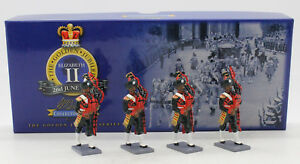 W BRITAINS COLLECTORS CLUB 40304 PAKISTAN ARMY PIPES & DRUMS SET 1 (UV9)
