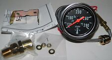 "NEW 2-1/16"" Mechanical Oil Coolant Water Temp Gauge with Sender by Make Waves"