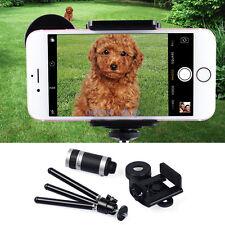 Clip-on 8x ottico Zoom HD Telescopio Camera lente For Universal Smartphone