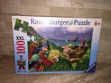 RAVENSBURGER PIRATES TREASURE 100 PIECE JIGSAW PUZZLE
