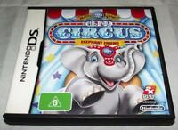 It's My Circus Elephant Friend Nintendo DS 2DS 3DS Game *Complete*