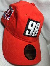 Marco Andretti #98 Mario Andretti Indy New Era 9Twenty Cap Hat Orange Adjustable