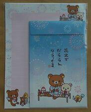 San-X Letter Sets Rilakkuma Fireworks