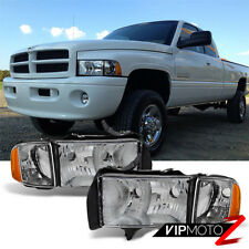FACTORY SPORT STYLE 1994 1995 1996 1997 1998 1999 2000 2001 Dodge Ram Headlights