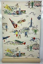 Thunderbirds Very Rare Original Vintage 1965 Wallpaper Roll, Gerry Anderson