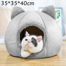 Haustier Katzen Nest Haus Bett Iglu Katzenhöhle Warm Hundekissen Katzenkorb Neu