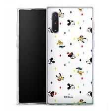 Samsung Galaxy Note 10 Silikon Hülle Case Handyhülle  - Disney Carnival Pattern