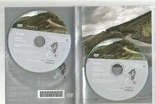 ORIGINALE AUDI RNS-E 2004-2009 Disco di navigazione DVD NAVIGATORE SATELLITARE MAPPA 2012 Set Completo 2 CD