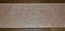 "Heavy Figures Birdseye Hard Maple Lumber 34-1/8"" x 6-3/4"" x 1-3/32"" Luthier"