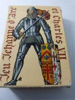 JEU DE 54 CARTES  , jehanne d'arc etcharles VII , (cp3)