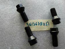 BMW MINI OR OEM NEW 4* Wheel Bolts Black  X1 X2 X3 X4 X5 X6 R50 R53  36136781151
