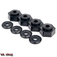 4Pcs Set Wheel Rim Hex 17mm to12mm Adapters 1:10 RC  TRAXXAS SLASH Short Course