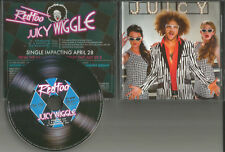 Lmfao REDFOO Juicy Wiggle ACAPPELA & INSTRUMENTAL USA PROMO DJ CD single Red Foo