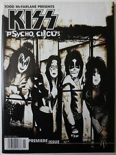 Kiss Psycho Circus Comic Book #1 Magazine Todd McFarlane Art Gene Simmons (M068)