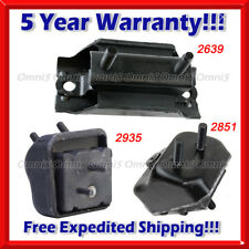 M524 For Ford Ranger 98-01 3.0L/ 98-11 4.0L, w/ 4WD, Motor & Trans Mount Set 3pc