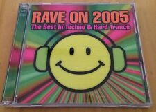 Rave On 2005 - The Best In Techno & Hard Trance - 2CD Rare!